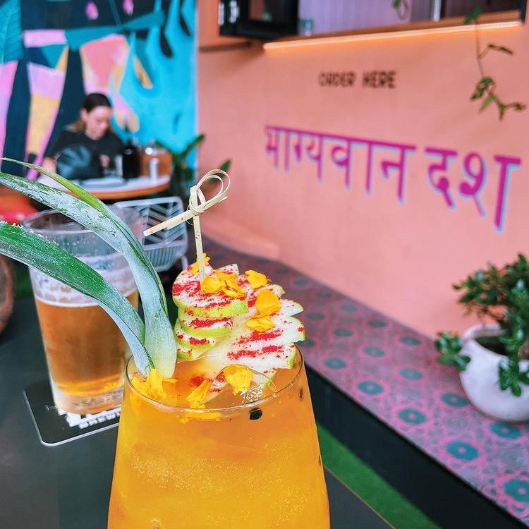 Cocktails at The Pocket Espresso Bar